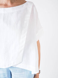 GROME DESIGN Linen Top white