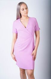FRENCH CONNECTION Whisper Ruth Short Sleeve Wrap Dress laventeli