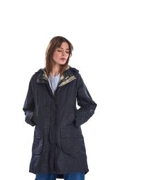 BARBOUR Maddison Wax takki royal navy