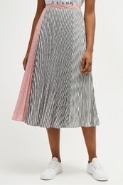 FRENCH CONNECTION Carolie Cotton Pleated Skirt
