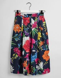 GANT Humming Floral Pleated Skirt