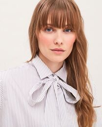 NEWHOUSE Merike Striped Shirt