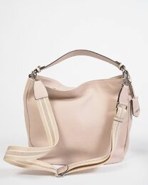 ABRO Sporty Leather Bag beige