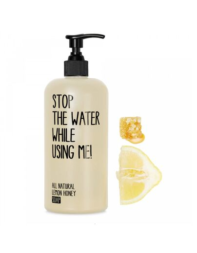 STOP THE WATER WHILE USING ME käsisaippua lemon honey