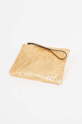 ABRO Cosmetic Bag Miranda gold