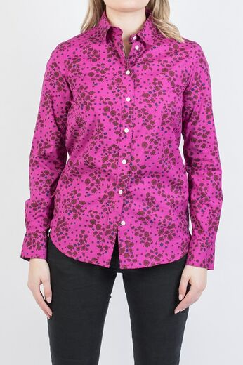 GANT Fall Flower Strech Shirt orchid purple