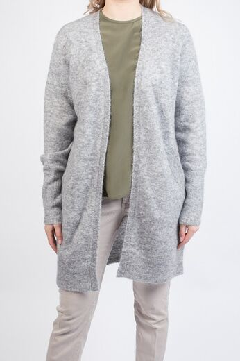 SECOND FEMALE Brook Knit New Pocket Cape grey melange