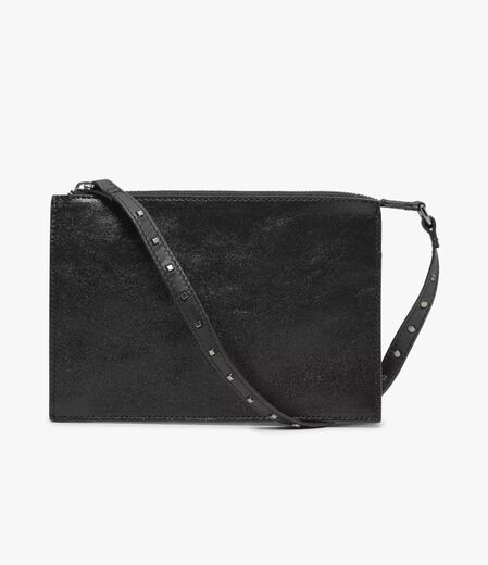 DAY ET Lumine Leather Cluch black