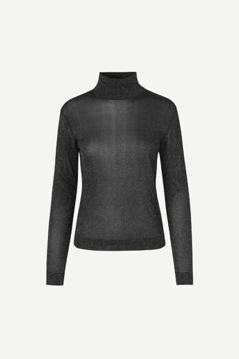 SAMSOE & SAMSOE Carey turtleneck black