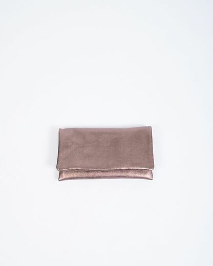 ABRO Clutch Bag brass
