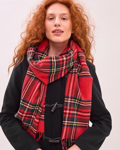 NEWHOUSE Royal Stewart Scarf