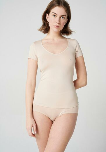 ABOUT Short Sleeve beige