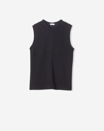 FILIPPA K Double Face Cocktail Top musta