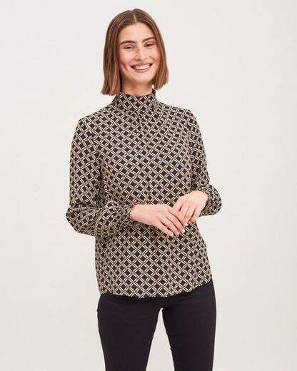 NEWHOUSE Chelsea Blouse black