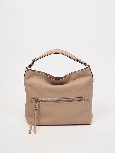 ABRO Hobo Linna Leather Bag coconut