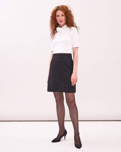 NEWHOUSE Lurex skirt