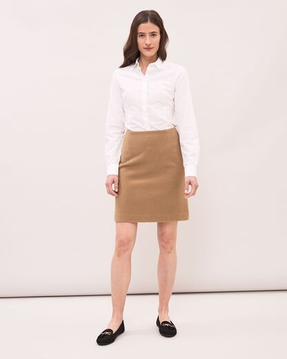 NEWHOUSE Mini Skirt kamelinruskea