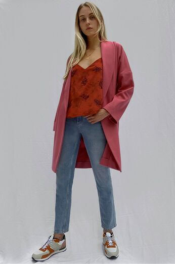 FRENCH CONNECTION Ricio Platform Wool desert rose