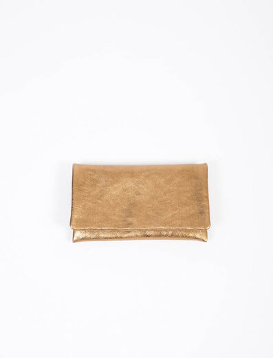 ABRO Clutch Bag bronce
