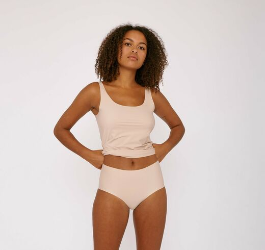 ORGANIC BASICS Cheeky High Rise 2-pack nude