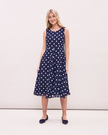 NEWHOUSE Jean Dot Dress