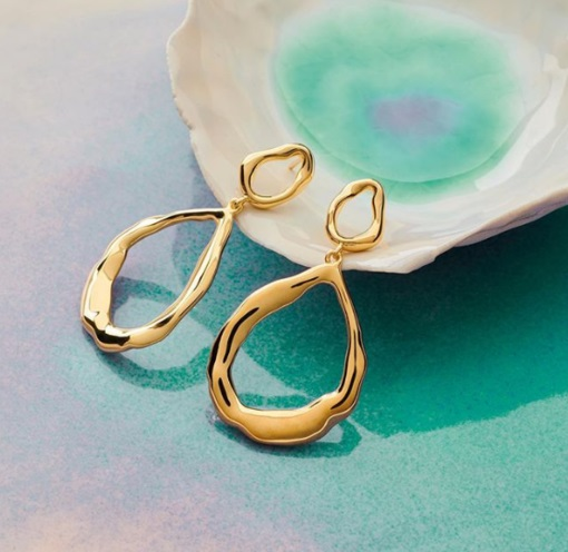 PERNILLE CORYDON Gaia Earrings kulta