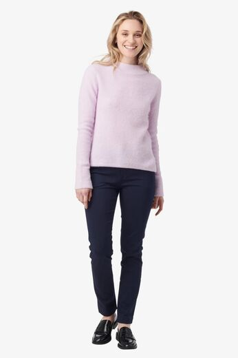 BOOMERANG Runa Fluff Sweater Purplish