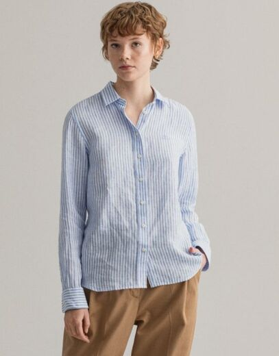GANT Linen Chambray Stripe Shirt