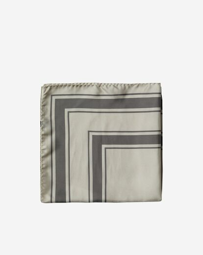 FILIPPA K Silk Pattern Scarf mousse