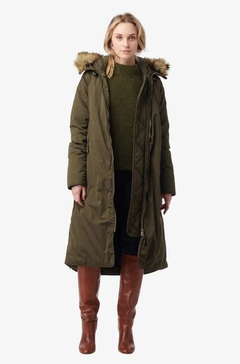 BOOMERANG Smilla Down Coat winter moss