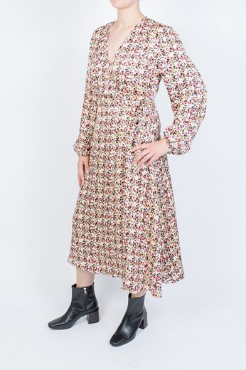 SECOND FEMALE Decor Wrap Dress