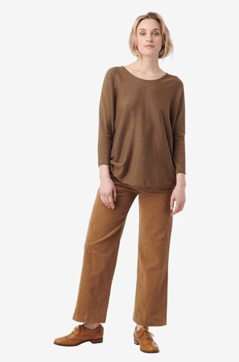BOOMERANG Planta Sweater wood brown
