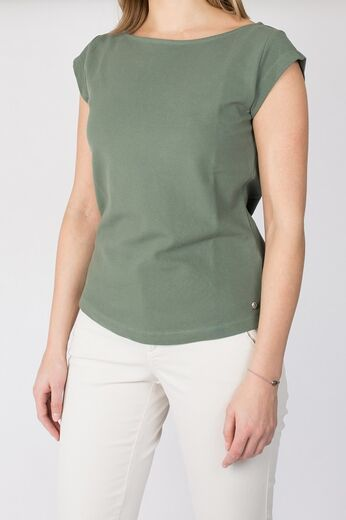 BOOMERANG Frejus Solid Pique Top venetian green