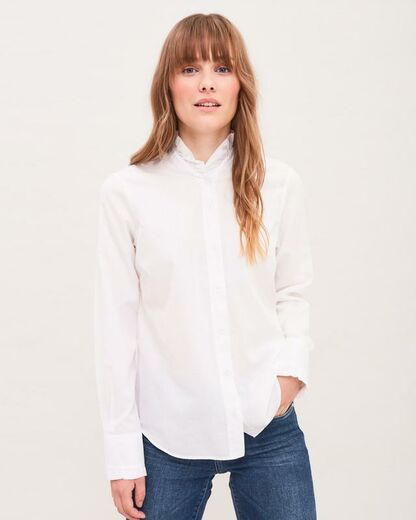 Newhouse Frill Shirt
