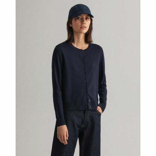 GANT Light Cotton C-neck Cardigan
