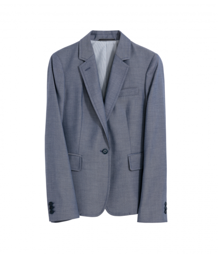 GANT Washable Chambray Blazer