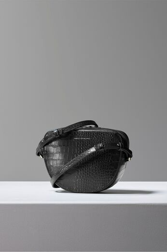 FRENCH CONNECTION Tallin Croc Crossbody Bag
