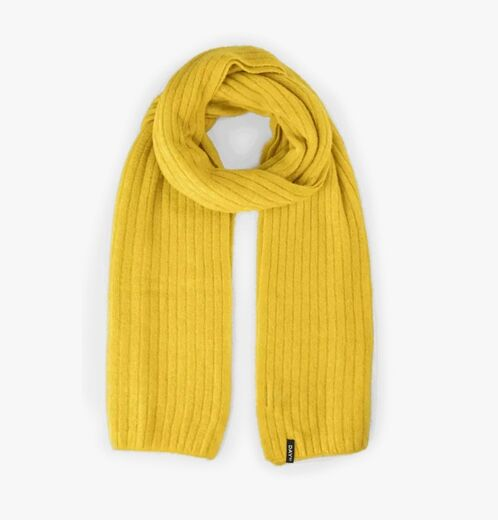 DAY ET Day Rib Knit Scarf keltainen