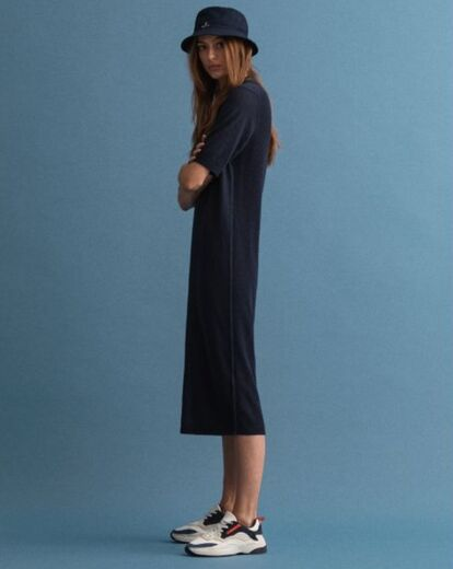 GANT Ribbed Rugger Dress