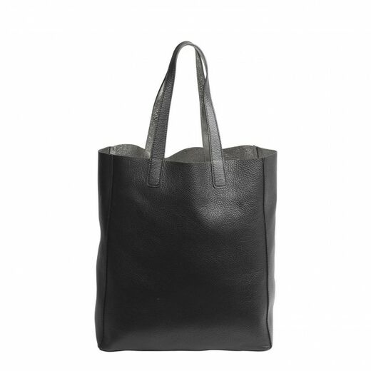 ABRO Doubleface Leather Shopper hopea