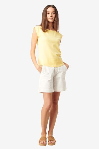 BOOMERANG Frejus Solid Pique Top soft sunshine