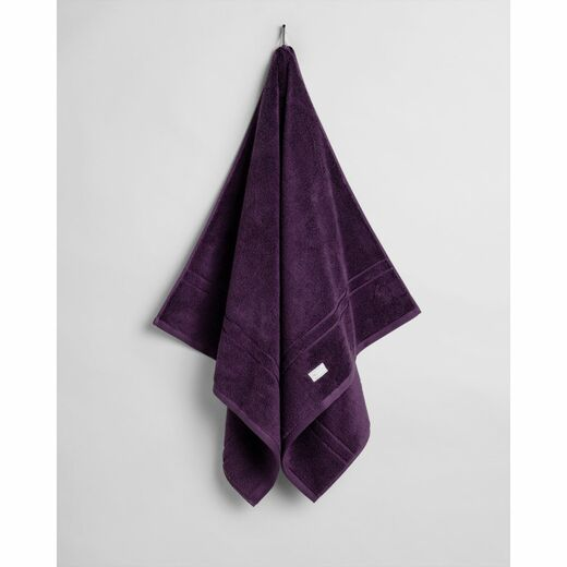 GANT Organic Premium Towel blackberry purple 70 x 140 cm