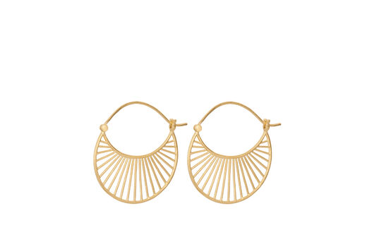 PERNILLE CORYDON Large Daylight Earrings kulta
