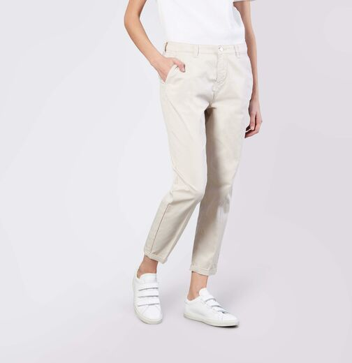 MAC Turn Up Chino ivory