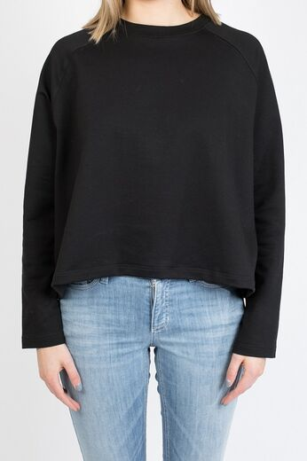 ARELA Atla Cropped Sweater musta