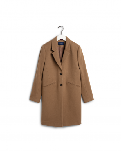 GANT Classic Tailored Coat warm khaki
