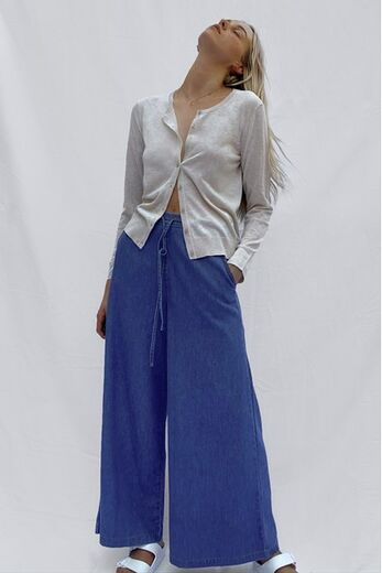 FRENCH CONNECTION Drawsting Culotte