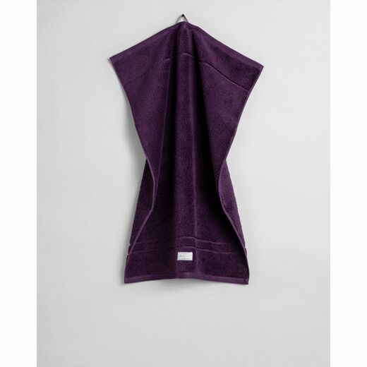 GANT Organic Premium Towel blackberry purple 50 x 70 cm