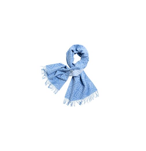 GANT Icon Wool Scarf pacific blue
