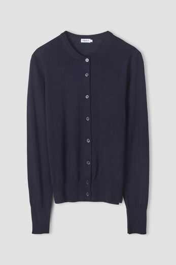 FILIPPA K Merino Short Cardigan navy